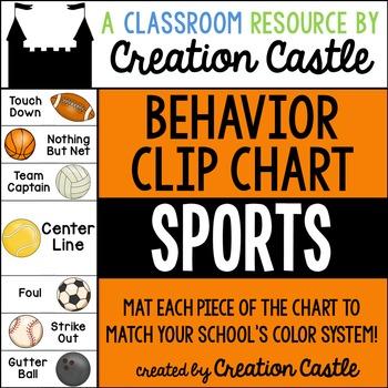 Behavior Clip Chart - Sports