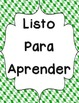 Behavior Clip Chart - Twisted Plaid {SPANISH}