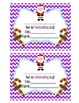 Behavior Clip Chart - Christmas chevron