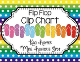 Behavior Clip Charts {Flip Flops}