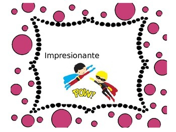 Behavior Clips for Spanish Dual Immersion Using Super Heroes