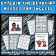 Behavior File Folder Activities: Autism, Aspergers, ED, AD