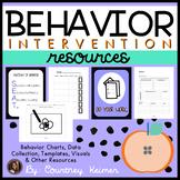 Behavior Intervention Bundle {Charts, Data Collection, Tem