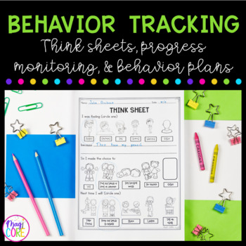 Behavior Interventions:Contracts, Tracking Sheets, Think S