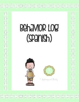 Behavior Log (Spanish)