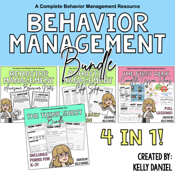 Behavior Management BUNDLE!
