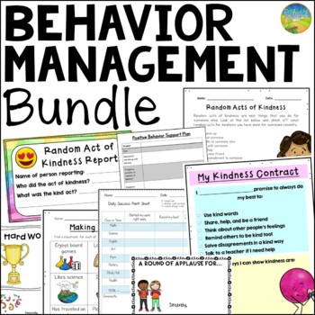 Behavior & Classroom Management BUNDLE!