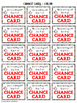Behavior Management Coupons - Chance Cards