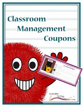 Reward Coupons – Classroom Management