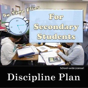 Behavior Management Plan for High School and Middle School