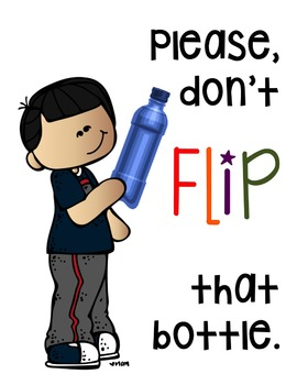 Behavior Management - Please don't flip that bottle!