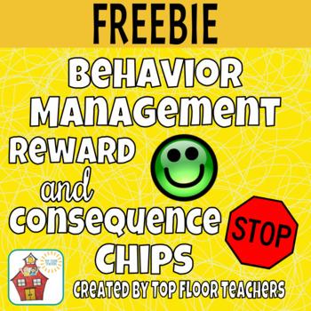 Behavior Management Reward & Consequence Chips