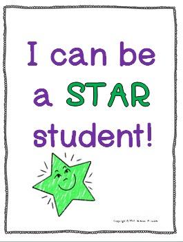 Behavior Management-Star Student Chart