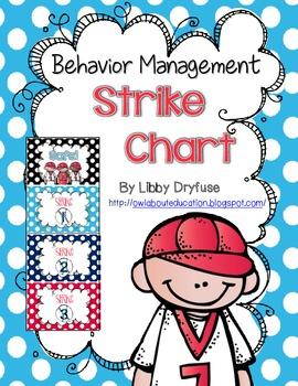 Behavior Management: Strike Chart