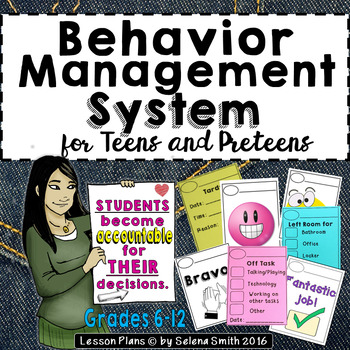 Behavior Management System for Middle School and High Scho