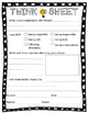 Behavior Management - Think Sheet