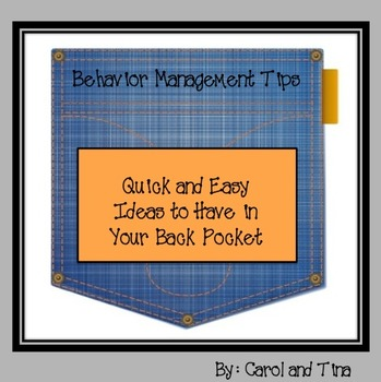 Behavior Management Tips: Quick and Easy Ideas to Have in