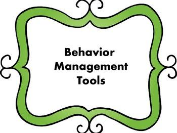 Behavior Management Tools