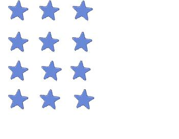 Behavior Management tokens: Stars and Smiley faces