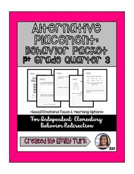 Behavior Packet-Quarter 3