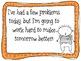 Behavior Plan for 1st Grade