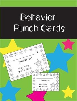 Behavior Punch Cards