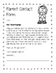 Behavior Reflection and Parent Contact Form