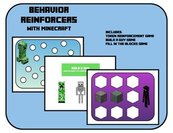 Behavior Reinforcers -Fill in the dots and more- with Mine