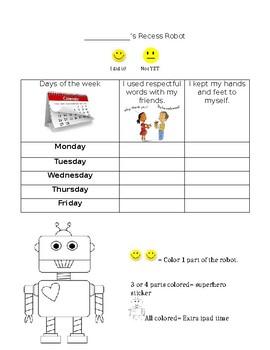 Behavior Robot Plan