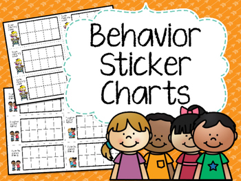 Behavior Sticker Chart