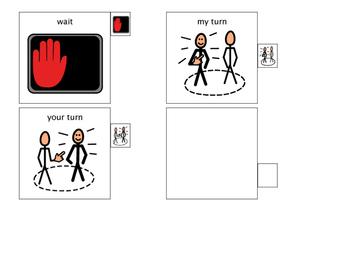 Behavior Visual Cards for Lanyard 3