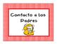 Behavior chart in Spanish