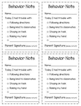 Behavior communication