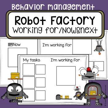 Behavior management system - Autism visual working for boa