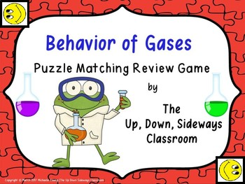 Behavior of Gases Puzzle Matching Review Game