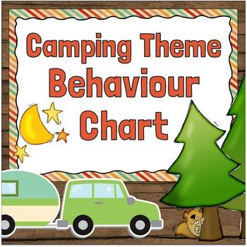 Behaviour Chart Camping Theme