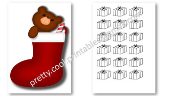 Behaviour Printable: Christmas Gifts in the Stocking
