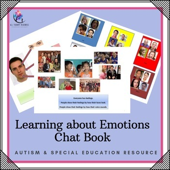 Behaviour Support: Chat Book - Learning About Emotions (Au