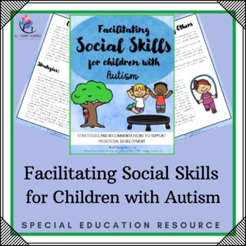 Behaviour Support - Facilitating Skills for Children with Autism