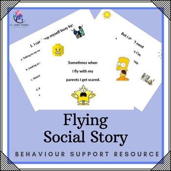 Behaviour Support: Flying Social Story