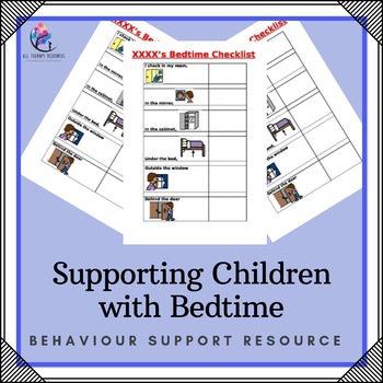 Behaviour Support: Supporting Children with Bedtime