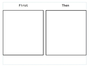 Behavioural First and Then Template