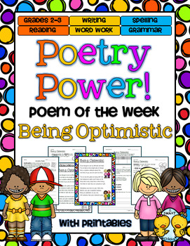 Being Optimistic Poetry Power! Daily Literacy Practice