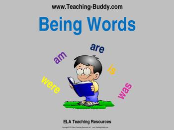 Being Words - Verbs
