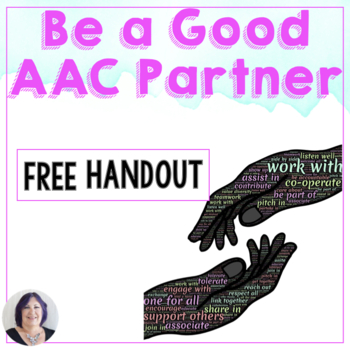 FREE Being a Good Communication Partner to an AAC User