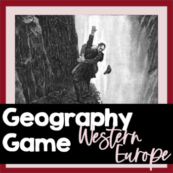 Geography Game: Belgium, France, Spain & Switzerland, Powe