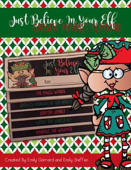 Believe in Your Elf - Growth Mindset Flipbook