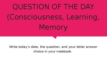 Bell Ringers: AP Test Prep Question of the Day