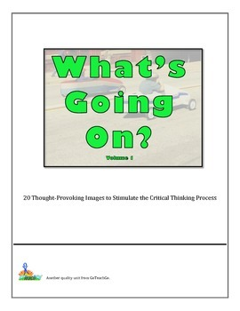 Bell Ringers - What's Going On?  Vol 1  20 Images to Stimu