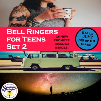 Bell Ringers For Any High School Classroom - Set 2